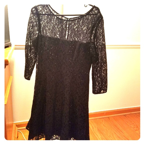 184251f8f5 SLNY 3 4 Sleeve Sequin Dress. M 5b2bc4d86197452f8e8b9569